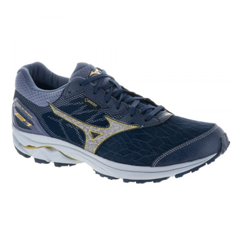 Mizuno Wave Rider 21 GTX Men's Dress Blue/Silver