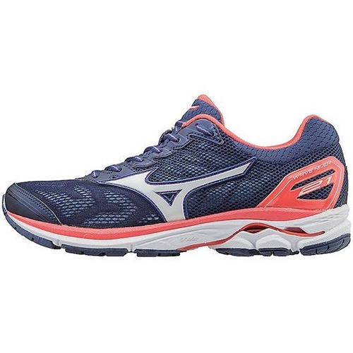 Mizuno Wave Rider 21 Women's Patriot Blue / White