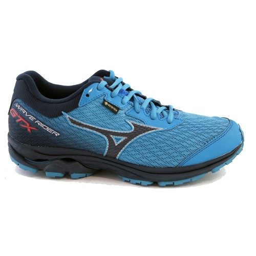 Mizuno Wave Rider 23 GTX Men's Black Blue Depths