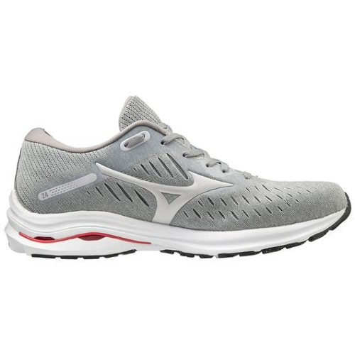 Mizuno Wave Rider 24 Men's Lunar Rock/Nimbus Cloud