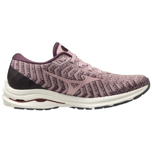 Mizuno Wave Rider 24 Waveknit Women's Woodrose/Pale Lilac