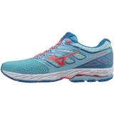 Mizuno Wave Shadow Women's Blue Topaz/Fiery Coral