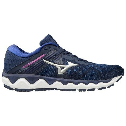 Mizuno-Wave-Horizon-4 Women's Medieval Blue-Silver