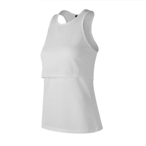 NB 247 Sport Layered Tank Women's White