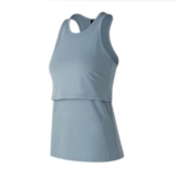 NB 247 Sport Layered Tank Women's Light Slate