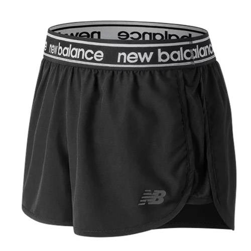 "NB Accelerate 2.5"" Short Women's Black"