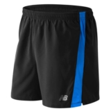 "NB Accelerate 5"" Short Men's Electric Blue/Black"