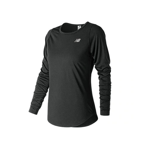 NB  Accelerate L/S Womens Black