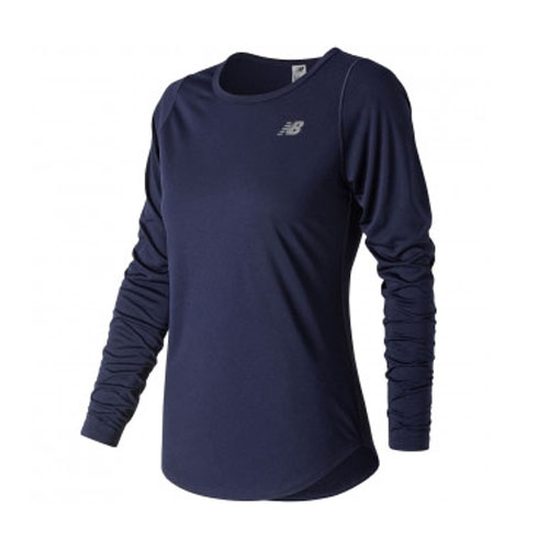 NB  Accelerate L/S Womens Pigment