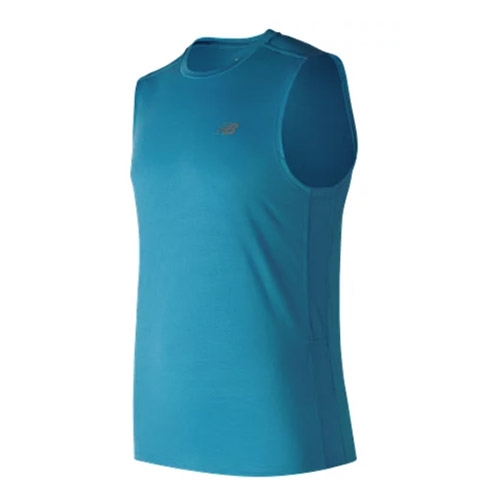 NB Accelerate Sleeveless Men's Cadet - New Balance Style # MT73069.CAD F18