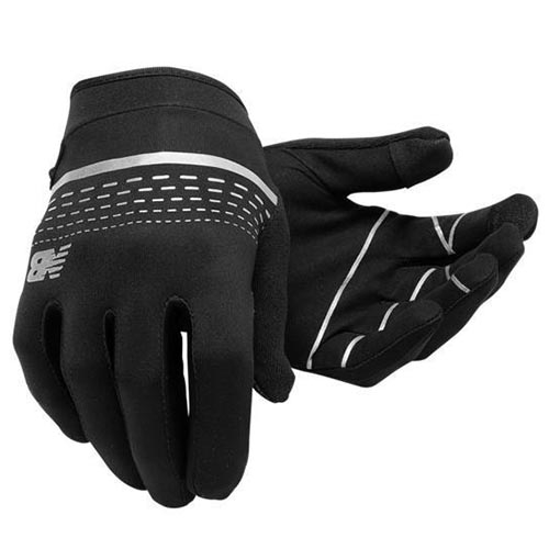 NB Beacon Run Glove Unisex Black/Grey