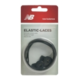 NB Elastic Laces Unisex Black