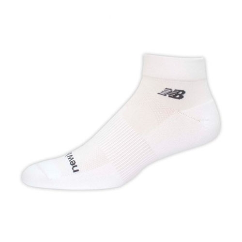 NB Elite NBx Quarter Socks Unisex White