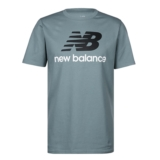 NB Essentials Stacked Logo Tee Men's Slate