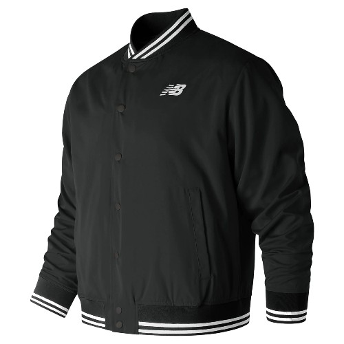 NB Essentials Stadium Jacket Mens Black