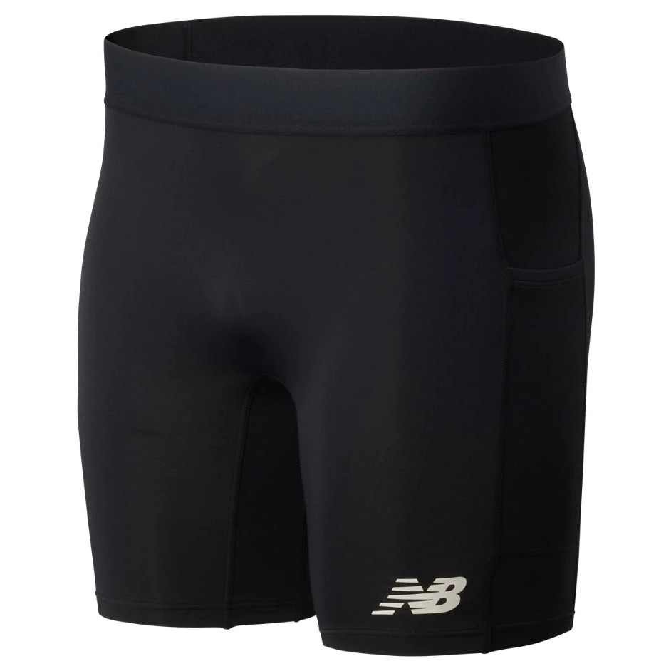 "NB Fast Flight 8"" Fitted Short Men's Black"