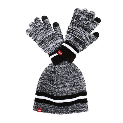 NB Glove & Beanie Set Unisex Black