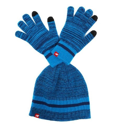 NB Glove & Beanie Set Unisex Blue