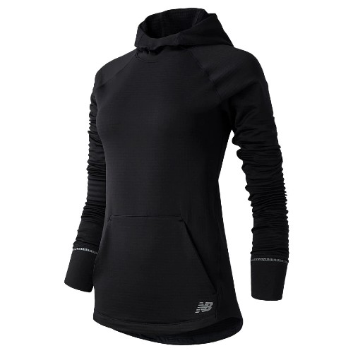 NB Heat Grid Hoodie Women's Black