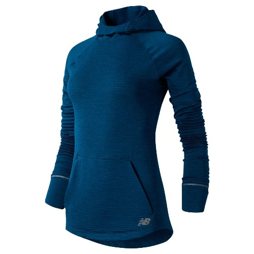 NB Heat Grid Hoodie Women's Rogue Wave/Heather