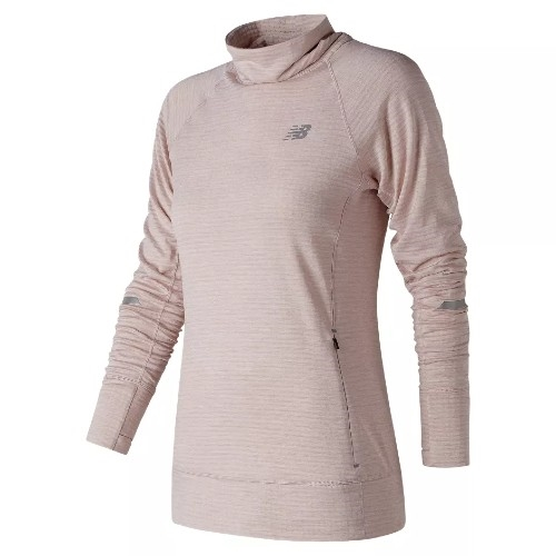 NB Heat Pullover Women's Conch Shell Heather