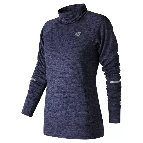 NB Heat Pullover Women's Pigment Heather