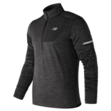 NB Heat Quarter Zip Men's Heather Charcoal