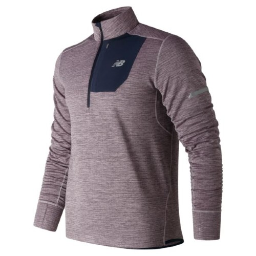 NB Heat Quarter Zip Men's Cashmere