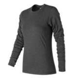 NB Heather Tech L/S Women's Black Heather