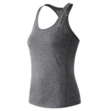 NB Heathered Tank Women's Black Heather