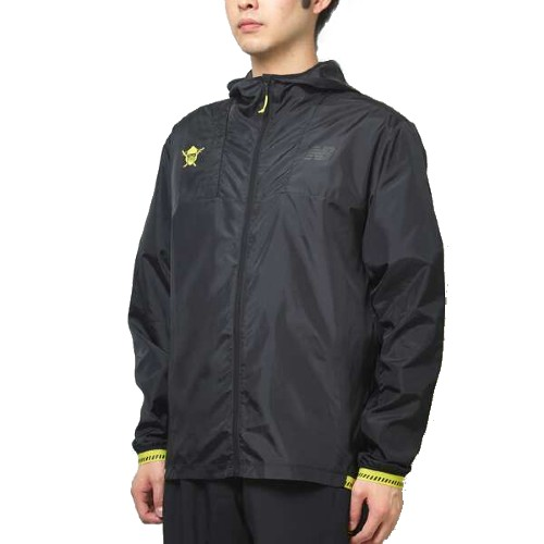 NB Light Pack Jacket Men's Black/Yellow