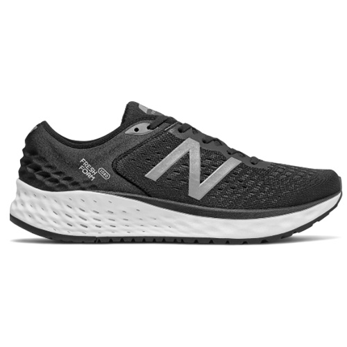 NB M1080BK V9 Men's Black/White - New Balance Style # M1080BK9 S19