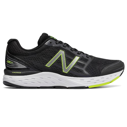 NB M680LB V5 Men's Black/Lime