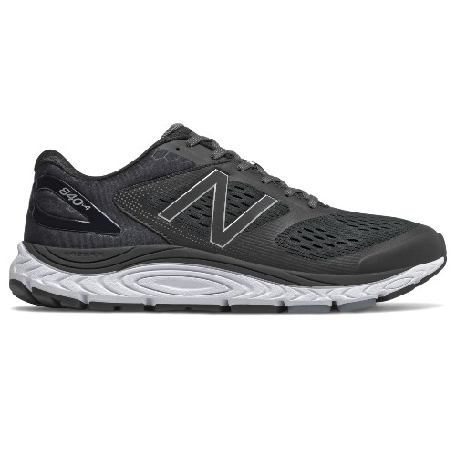 NB M840BK v4 Men's Black/White - New Balance Style # M840BK4 F20
