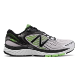 NB M860WB v7 Men's White/Black/Lime