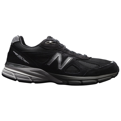 NB M990 v4 Men's Black/Silver