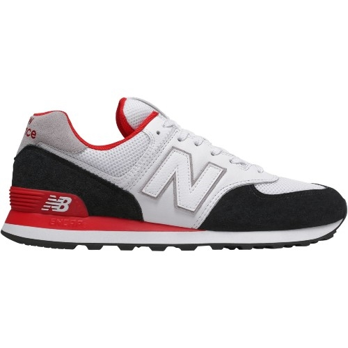 NB ML574NSB Men's Black/Red