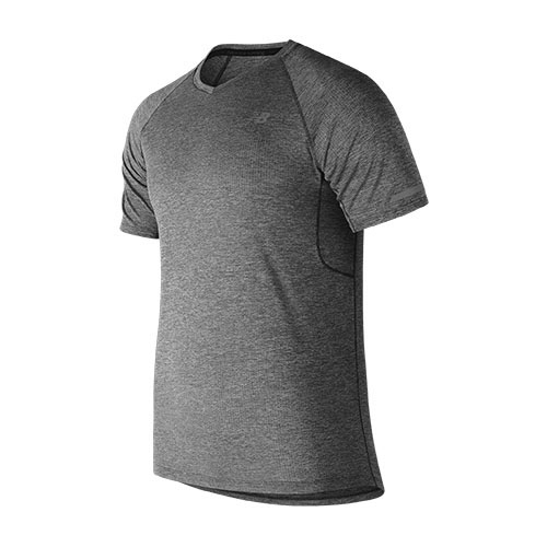 NB  Mesh ICE 2.0 Tee Men's Black Heather