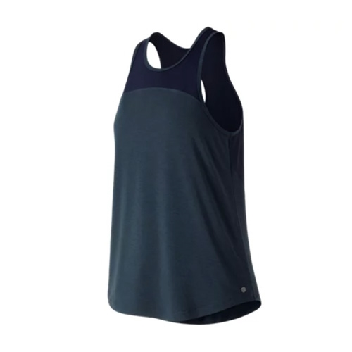 NB Mesh Layer Tank Women's Pigment Heather