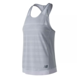 NB Q Speed Jacquard Tank Women's Arctic Fox Heather