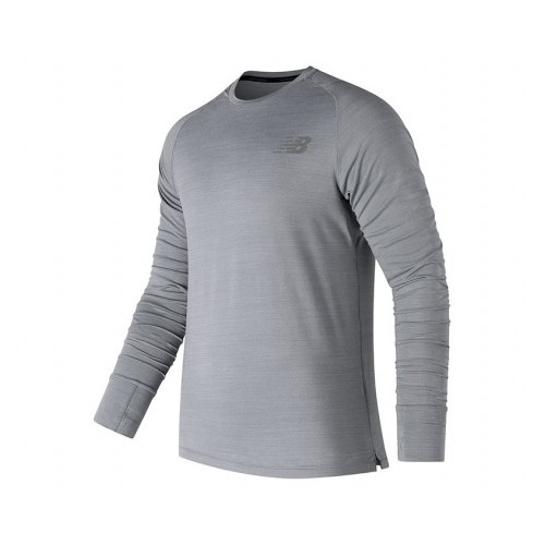 NB Seasonless UPF L/S Men's Athletic Grey