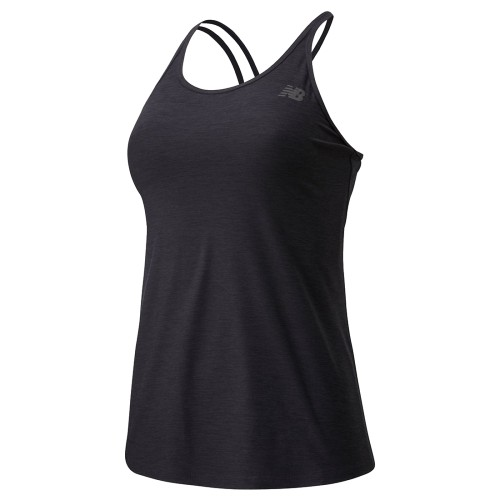 NB Sport Spacedye Tank Womens Black