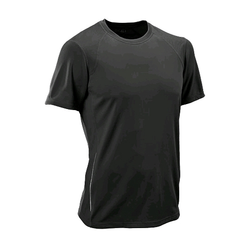 NB Tempo Short Sleeve Top Men's Black - New Balance Style # MRT9118 S11