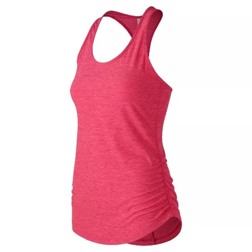 NB Transform Perfect Tank Women's Pink Zing Heather