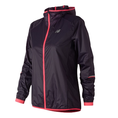 NB Ultralight Packable Jacket Women's Elderberry - New Balance Style # WJ81240 EDB C18