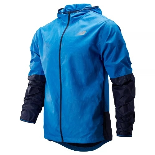 NB Velocity Jacket Mens Laps Blue