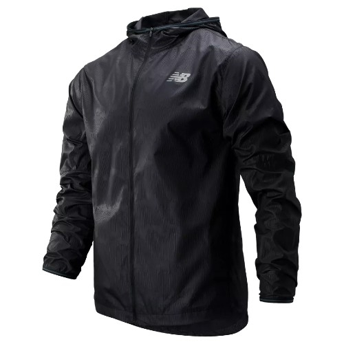 NB Velocity Jacket Mens Black