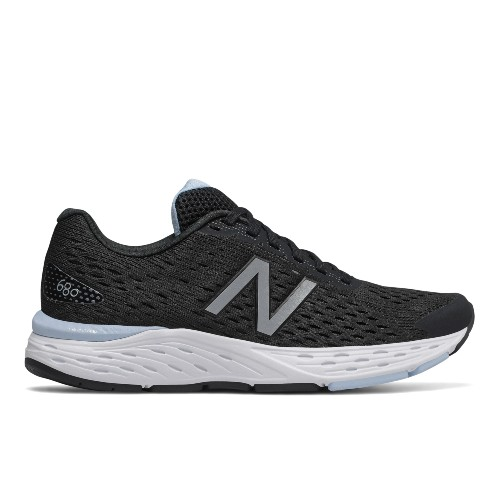 NB W680LK V6 Women's Black/Light  Blue