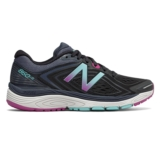 NB W860BP v8 Women's Black/Poisonberry