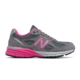 NB W990GP4 Women's Grey/Pink Zing
